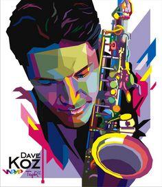 Dave Koz - Java Jazz Festival 2012  by Toph in WPAP funatic