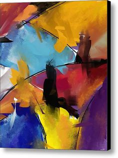 Abstract 1412 Canvas Print / Canvas Art By Patric Mouth