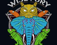 Wise and Fury Fashion Graphic Design, Working On Myself, New Work, Adobe Illustrator, Spiderman, Photoshop, Behance, Superhero, Gallery
