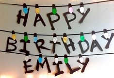 Personalised Birthday Banner Stranger Things / by MaterialGods