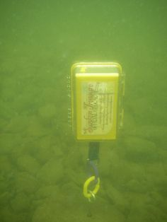 Underwater Geocache by adamgerhard, via Flickr