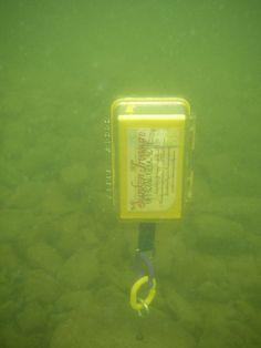 Underwater Geocache by adamgerhard, via Flickr