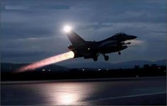 F-16 full length afterburner
