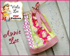 Annie Lee Pillowcase Dress Pattern PDF Girl's by ViolaLeePatterns, $6.00