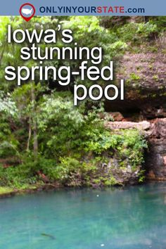 Travel | Iowa | USA | Attractions | Natural Beauty | Things To Do | Destinations | Places To Visit | Spring-Fed Pools | Summer | Swimming | Natural Pool | State Parks | Day Trips | Natural Beauty | Strawberry Point | Richmond Springs | Easy Hikes | Outdoor | Adventures | Fishing | Trails