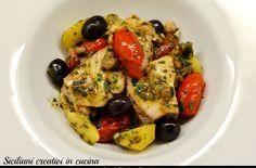 Ricciola in umido alla siciliana