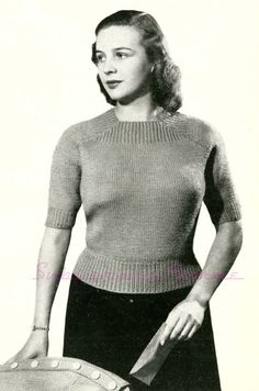 Subversive Femme: Curvy Month Pattern Six - Cosy for Cold Days, c. 1940s