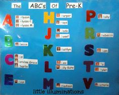 PreKandKSharing: The First Few Days Of School: Getting To Know Each Other
