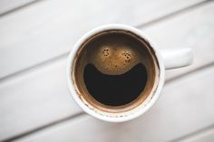 Have you drink a cup of coffee today? Please welcome, happy coffee :) Happy Coffee, Hot Coffee, Coffee Cups, Black Coffee, Coffee Life, Coffee Stock, Fresh Coffee, Iced Coffee, Morning Ritual