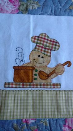 Risultati immagini per patchwork infantil Applique Patterns, Applique Designs, Embroidery Applique, Quilt Patterns, Machine Embroidery, Rag Quilt, Quilt Blocks, Sewing Crafts, Sewing Projects