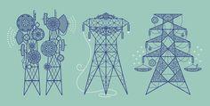 Three Towers – Dan Funderburgh – Illustrators & Artists Agents – Début Art