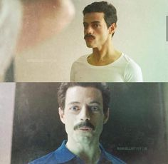This is so incredibly perfect Rami Malek Freddie Mercury, Queen Freddie Mercury, Freddie Reign, Rami Malik, Rami Said Malek, Queen Movie, Mr Robot, Ben Hardy, Greatest Rock Bands