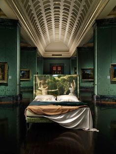 Savoir Beds & National Gallery launch range inspired by famous paintings Make Your Bed, How To Make Bed, Velvet Bed, Luxury Furniture Brands, Cool Beds, Bed Furniture, Wall Design, Building A House, Cool Designs