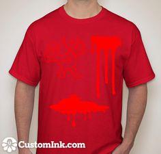 Blood Red Blood Test, Red, Mens Tops, T Shirt, Fashion, Supreme T Shirt, Moda, Tee Shirt, Fashion Styles