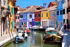 10 Jaw-Droppingly Beautiful Streets You HAVE To See #refinery29  http://www.refinery29.com/prettiest-streets-world-travel-pictures#slide-1  Via Galuppi, Burano, ItalyVenice is known for its scenic canals and romantic gondola rides, but the sights at Burano — a tiny island in the city's lagoon — are the real photogenic treasures. Legend has it that the technicolor houses were painted to distinguish one family's property from another during fog season. Stroll along the narrow sidewalk or cruise through the restaurant-lined main drag for some unrivaled Italian charm.