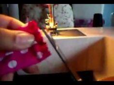 Faixa de cabelo com tecido - YouTube