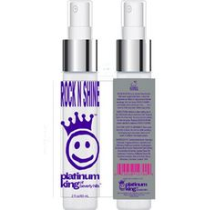 Great for before blow drying and after heat protective . Purple Shampoo, Rock N, Blow Dry, Vodka Bottle