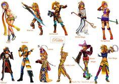 Rikku's Dresspheres