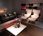 Salón sofisticado y moderno