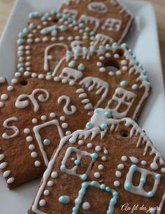 Au fil des jours Noel Christmas, Gingerbread Cookies, Cake, Sweet, Desserts, Food, Pretty, Chocolates, Best Cookie Recipes
