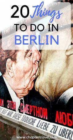 20 things to do in Berlin, Berlin inspiration, #berlin, Berlin Germany, Berlin Europe, Fun things to do in Berlin, Berlin Wall, Cool places in Berlin, where to go in Berlin, amazing things to do in Berlin, Inspiration Berlin