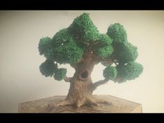 3D Pen Creations   Making a realistic tree   3D Pen Art - YouTube