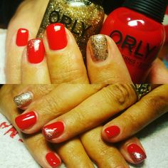 #gel_nails#christmas_is_loading