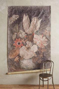 Petrichor Tapestry by Anthropologie in Assorted, Wall Decor Glass iDeas 🍷 Art Mural, Wall Murals, Wall Hangings, Art Walls, Anthropologie Home, Mirror Wall Art, Organic Modern, Boho, Vintage Bohemian