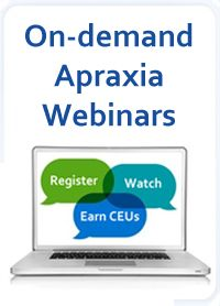 Apraxia Webinars from CASANA!  Their website is run by professionals/specialists in the area of CAS.