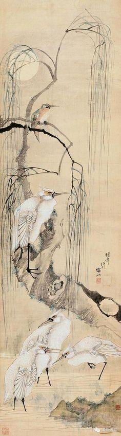 [经典欣赏]晚清海派代表人物任伯年花鸟画精选
