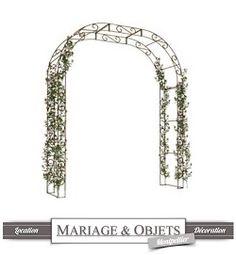 Mariage et Objets Montpellier Location d'arche en fer forgé: 45 €