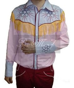 Back To The Future Part 3 BTTF Marty McFly 1885 Western Shirt