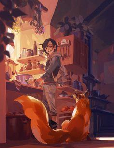 ArtStation - Treehouse 3, Aliya Chen