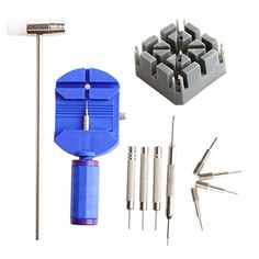 Kocome Watch Strap Holder Link Pin Remover Hammer Spring Bar Pins Repair Tool Kit >>> Find out more about the great product at the image link. Sliding Screen Doors, Sliding Glass Door, Pin Tool, Tool Set, Hobby Tools, Punch, Vinyl Pool, Fiberglass Shower, Lawn Chairs