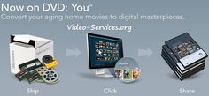 Need to transfer old family movies so you can watch them? This company can do just that for you! Old Family Movies, Home Movies, Thoughtful Gifts For Her, Book Creator, Photo Displays, Creative Gifts, Homemaking, Photo Book, Memories