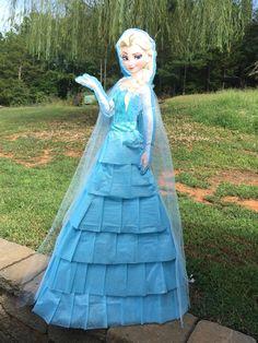 ELSA❄️ #Frozen #piñata ⛄️