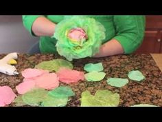 I love coffee filter crafts, especially this one where you transform plain coffee filters into realistic spring cabbages. Check out the full video tutorial. Coffee Filter Crafts, Coffee Filters, Large Paper Flowers, Tissue Paper Flowers, Bunny Crafts, Easter Crafts, Easter Projects, Handmade Flowers, Diy Flowers