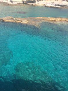 Kleftiko sea, Milos clear sea