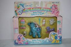 NWT Baby Fifi 4623 My Little Pony Baby Pony with First Tooth MIB 1986 #Hasbro