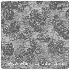KNIT - Wonderland - Owly Boo: Whimsical Designs Fabric Shop #whimsicalfabric #ArtGalleryFabrics