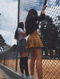 ♡ 𝚌𝚊𝚖𝚒𝚕𝚕𝚎 🏹☁️'s favorite images from the web Plaid skirt outfits ideas what to wear plaid skirts<br> Grunge Outfits, Trendy Outfits, Cute Outfits, Fashion Outfits, Fashion Fashion, Fashion Tips, Plaid Skirts, Mini Skirts, Plaid Skirt Outfits