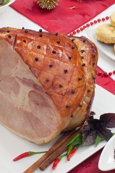 Easy Baked Honey-Glazed Ham Recipe - Only 5 Ingredients