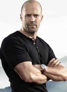 Jason Statham-yeah, Colton and I are watching The Mechanic right now. Im a little obsessed...