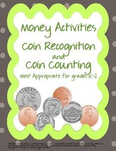 Great Money Unit with differentiated activities!