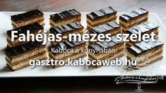 Fahéjas mézes szelet recept videó - Kabóca a konyhában