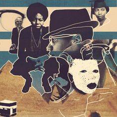 "ichirojo:Shabazz_Simone.jpegCommemorating the historic anniversary of the martyrdom of Malcolm ""El Hajj Malik El SHabazz"" X and songstress Nina Simone. American History|BlackHistory|WorldHistory."