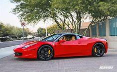 Ferrari World, Ferrari Car, Ferrari F458 Italia, Custom Wheels, Custom Cars, Lifted Ford Trucks, Train Car, Pontiac Gto, Lamborghini Gallardo