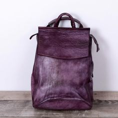 121.00$  Buy now - http://alil1l.worldwells.pw/go.php?t=32793368241 - 2017 New brand genuine leather women backpack high quality oil wax cowhide vintage Solid casual  female shoulder School bag 121.00$