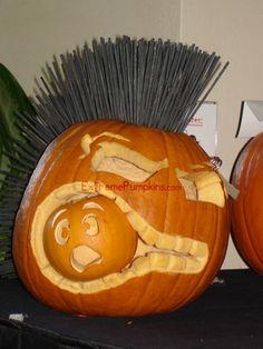 Mohawk Pumpkin