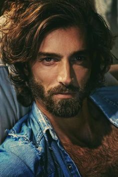Best Picture For hairy chest jeans For Your Taste You are looking for something, and it is going to Hairy Men, Bearded Men, Highlights Curly Hair, Portrait Photography Men, Beautiful Men Faces, Gorgeous Men, Male Torso, Hairy Chest, Hair And Beard Styles